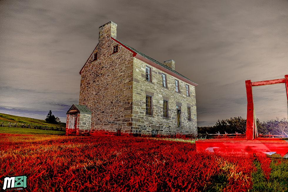 Bull Run Battlefield  Stone House