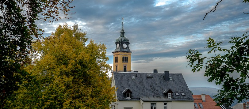 German Church and Sky