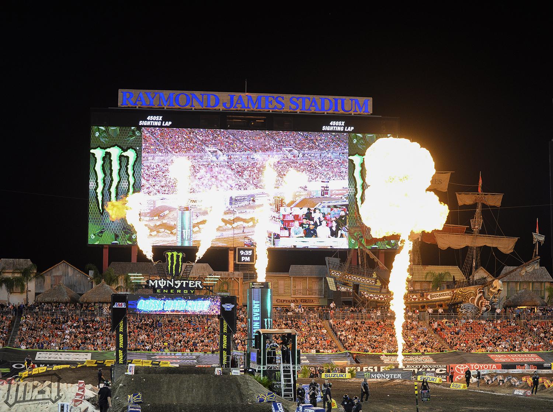 Monster Energy Supercross Tampa Florida