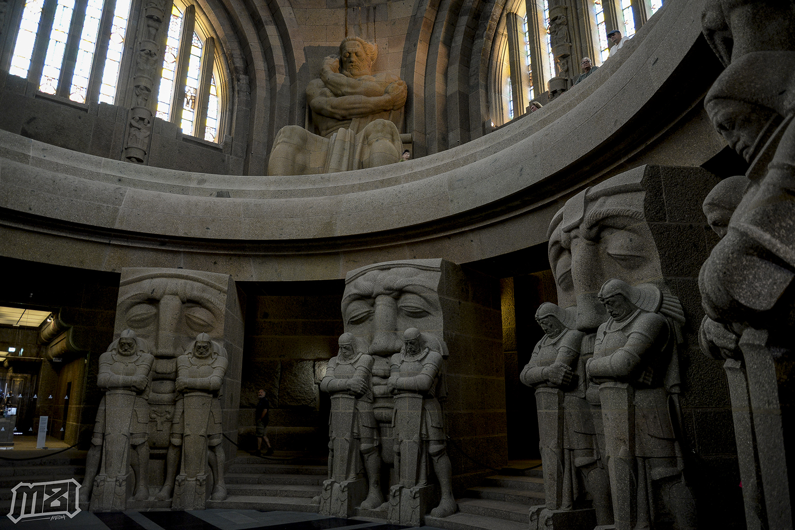 Battle of the Nations Monument Interior