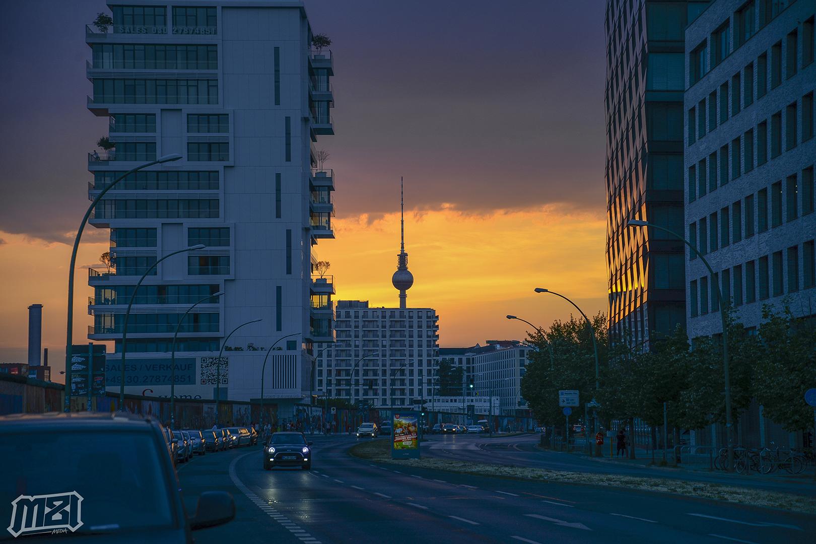 Berlin Sunset