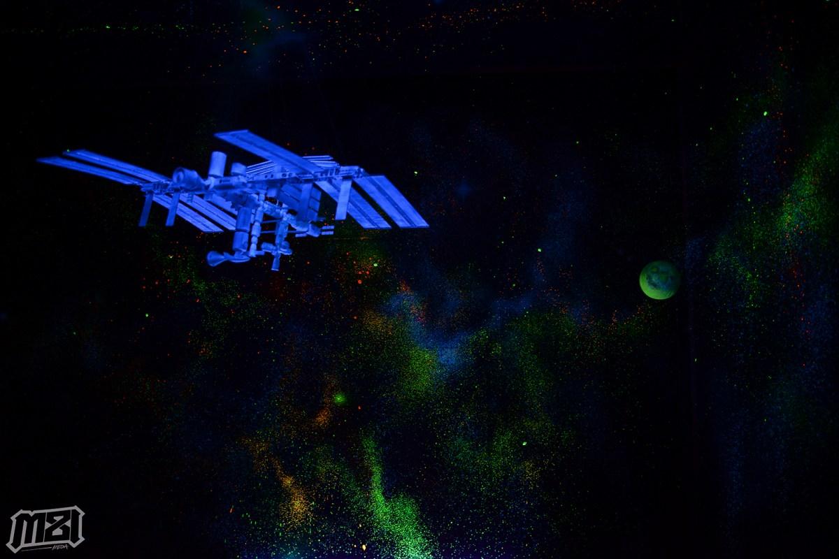Space Museum Dark Room
