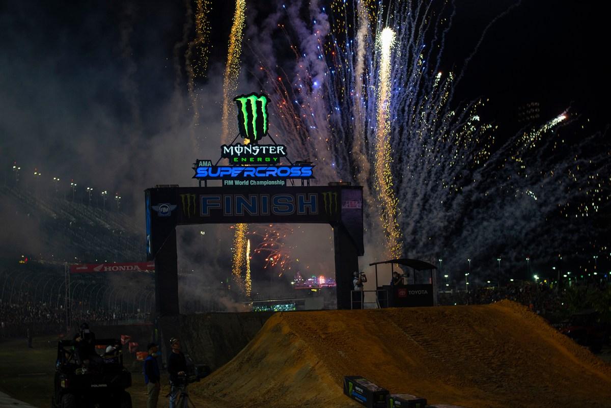 Monster Energy Supercross Opening Ceremonies