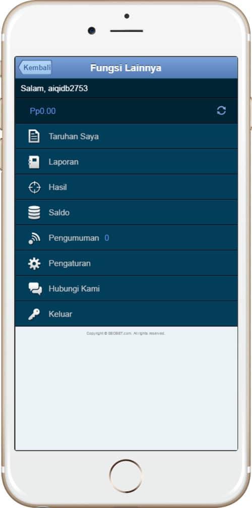 Sbo Mobile , Sbobet ทางเข้ามือถือ