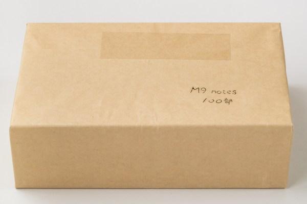 M9notes手帳サイズ 100冊荷姿