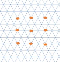 図15 M9notesの9つのマス目と格子細胞との関係