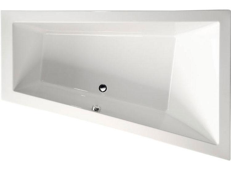 Baignoire Balno Asymtrique TRIANGL R 170x120x50cm