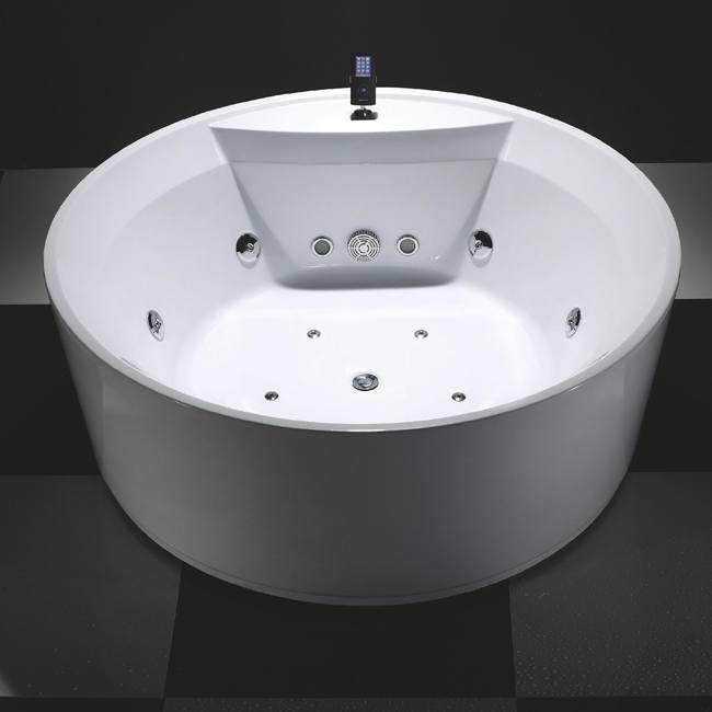 baignoire ronde sanssouci 1600 x 600 mm