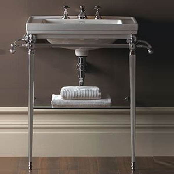 Grand Lavabo Poser Imperial Astoria Deco Basin Stands