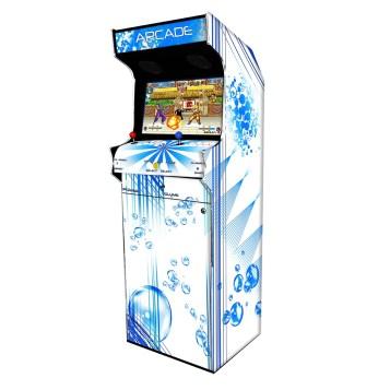 Borne Arcade Classic Profil Droit Modèle Bubble White ma-borne-arcade.fr