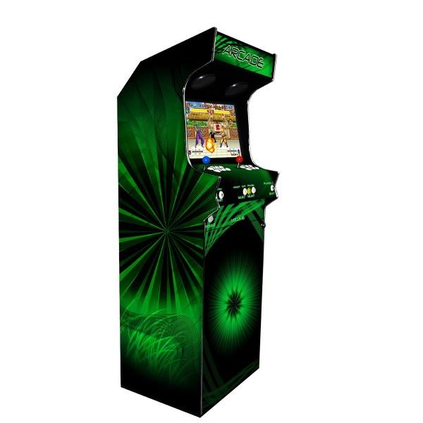 Borne Arcade Classic Profil Gauche Modèle Psycho ma-borne-arcade.fr