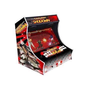 Borne Bartop Samouraï Shodown Slug Côté Gauche ma-borne-arcade.fr
