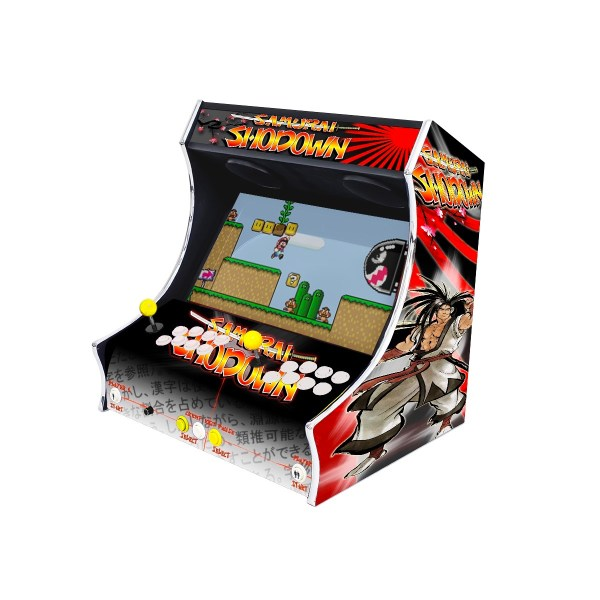 Borne Bartop Samouraï Shodown Côté Droit ma-borne-arcade.fr