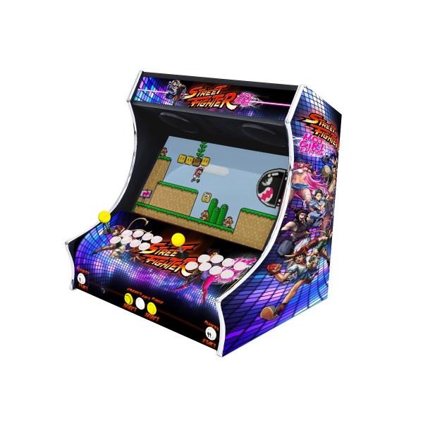 Borne Bartop Street Fighter Côté Droit ma-borne-arcade.fr