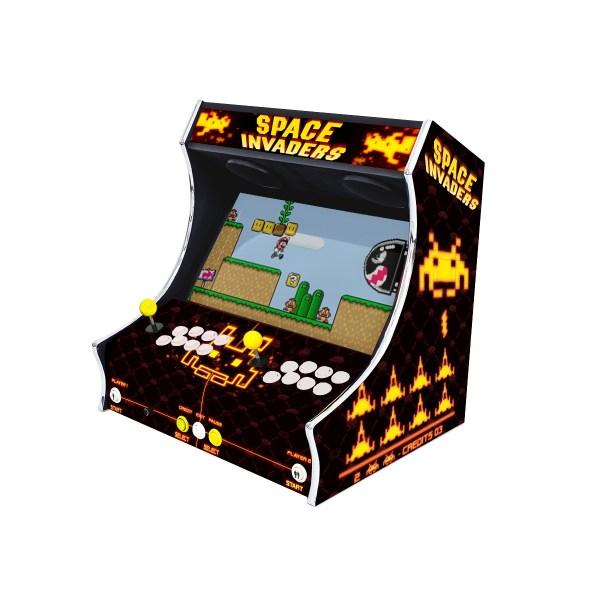 Borne Bartop Space Invaders Côté Droit ma-borne-arcade.fr