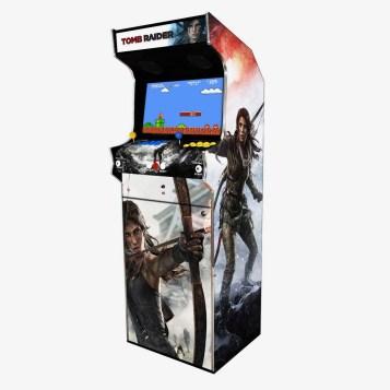 Borne Arcade Classic Profil Droit Modèle Tomb Raider ma-borne-arcade.fr