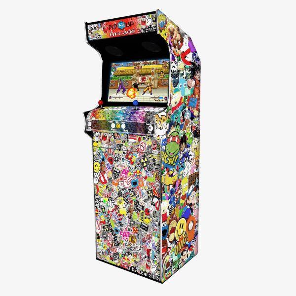 Borne Arcade Classic Modèle Stickers Bomb ma-borne-arcade.fr