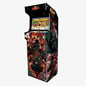 Borne Arcade Classic Modèle Shinobi ma-borne-arcade.fr