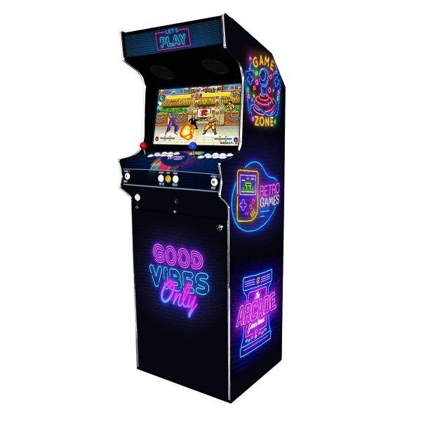 Borne Arcade Classic Modèle Néon ma-borne-arcade.fr