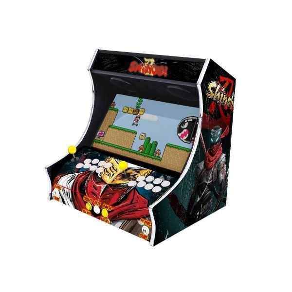 Borne Arcade Bartop Modèle Shinobi ma-borne-arcade.fr