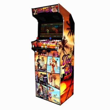 Borne Arcade Classic Profil Droit Modèle GTA Vice ma-borne-arcade.fr.jpg.jpg