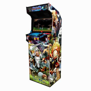 Borne Arcade Classic Profil Droit Modèle Ghoul ma-borne-arcade.fr