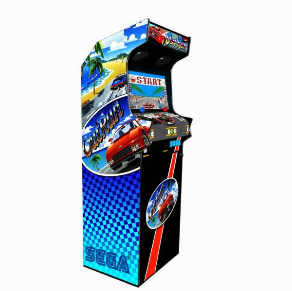 Borne Arcade Classic Profil Gauche Modèle Outrun ma-borne-arcade.fr.jpg.jpg