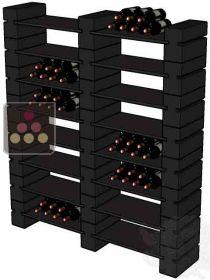 casiers en ceramique pour 192 bouteilles rack in black