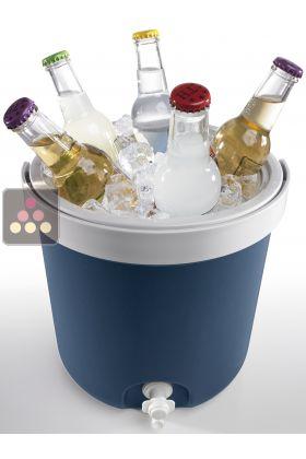 rafraichisseur seau a glacons et fontaine a eau mobicool aci mob330 ma cave a vin