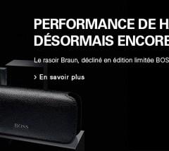 Rasoir Braun Series edition Hugo Boss