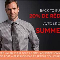 -20% sur les chemises Seidensticker