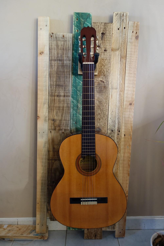 Support Guitare Mural Macradco
