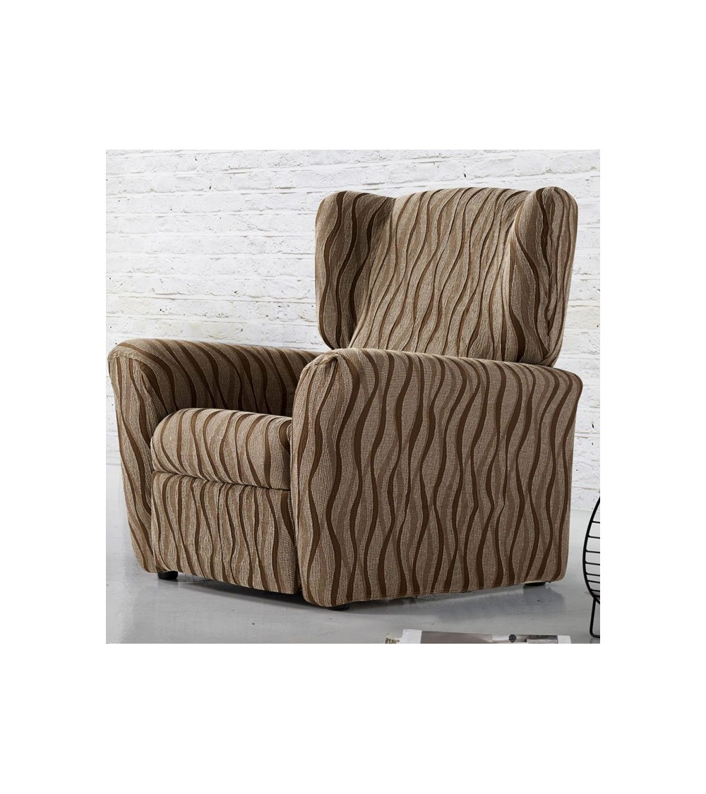 housse fauteuil relax extensible naima