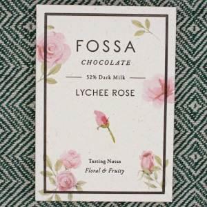 Fossa Chocolate Lychee Rose