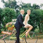 Partir en voyage de noces en vélo