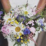 Idées bouquets pour un mariage champêtre