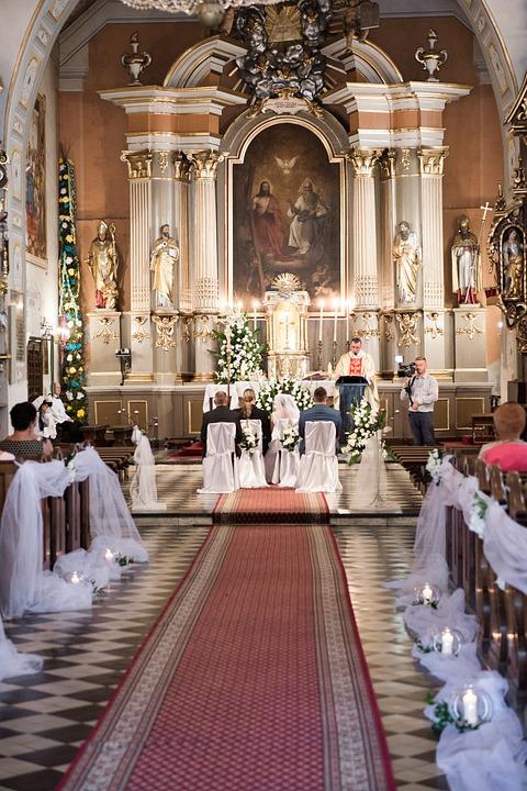 D corer l 39 all e de l 39 glise de son mariage ma liste de mariage - Decoration eglise mariage ...
