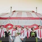 Mon urne de mariage sur le thème du cirque