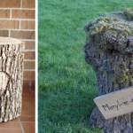 DIY : une urne de mariage en bois