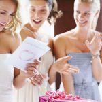Qu'allez-vous offrir aux mariés?