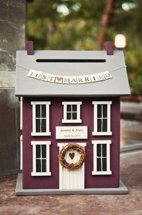 urne de mariage maison