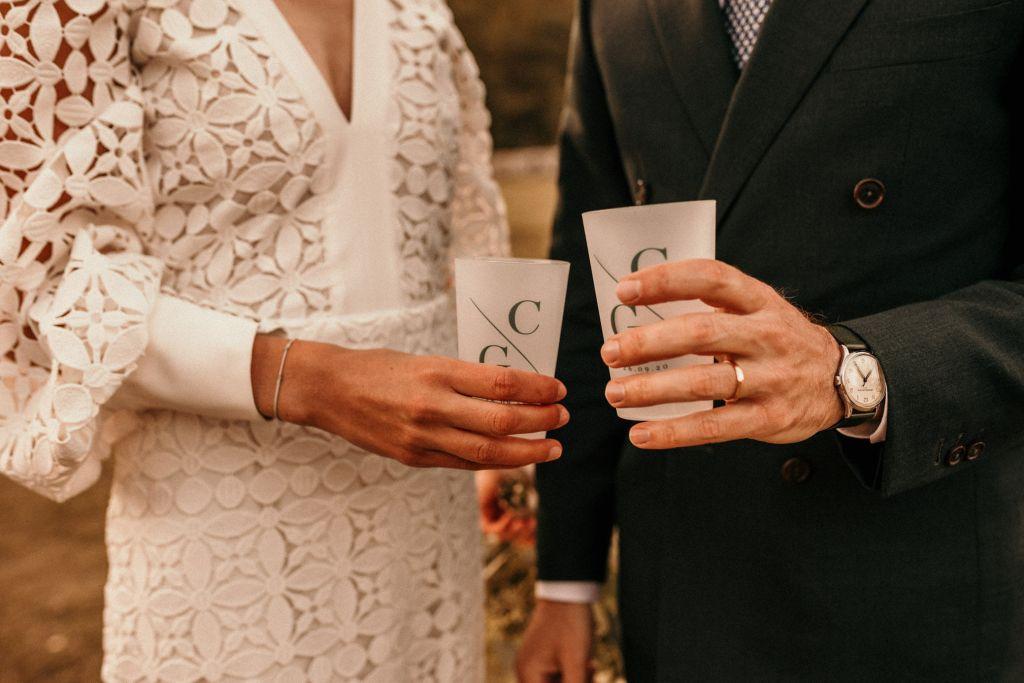 gobelet de mariage