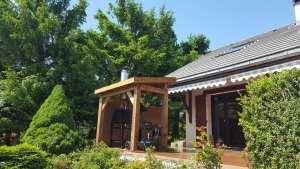 Abri pour barbecue en bois