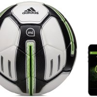 Ballon de football connecté Adidas miCoach Smart Ball