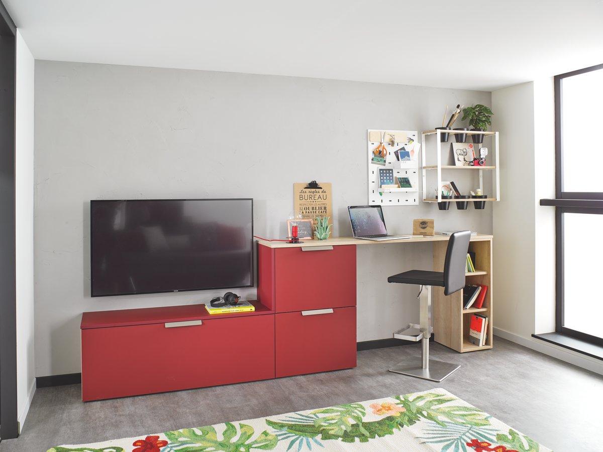 bureau meuble tv style design