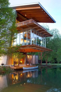 The Pond House by Holly & Smith Architects