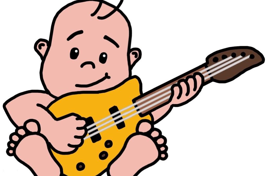 Rock 'n Romper muziekles in Utrecht Leidsche Rijn voor (groot)ouders met baby's en peuters