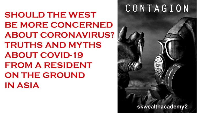 the ignored threat of covid19 and coronavirus in America and the West