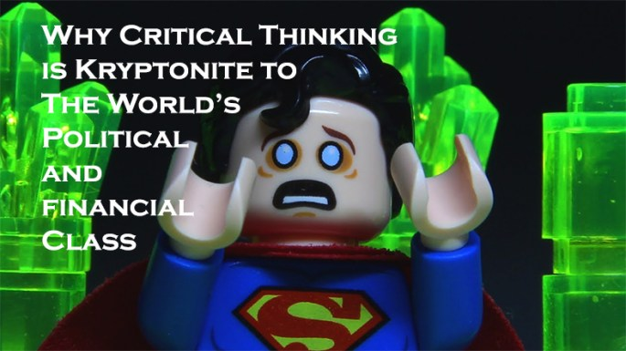 why critical thinking is inseparable from issues of freedom
