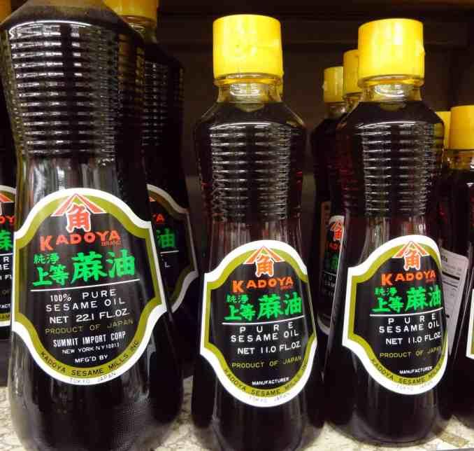 Sesame oil (Chamgireum) - Korean cooking ingredients